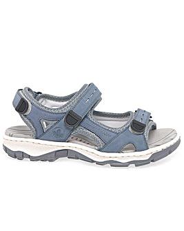 Rieker Liza Womens Standard Fit Sandals