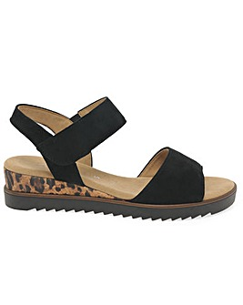 Gabor Raynor Wider Fit Wedge Sandals