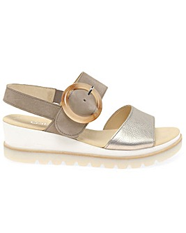 Gabor Yeo Standard Fit Wedge Sandals