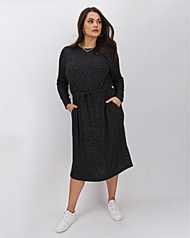 Charcoal Marl SoftTouch Dress