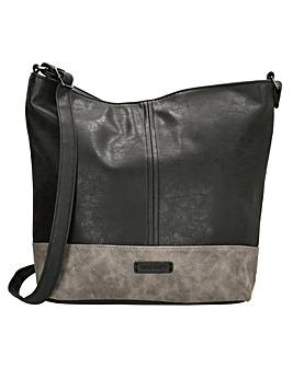 Enrico Benetti Eloise Single Handle Faux Leather Shoulderbag