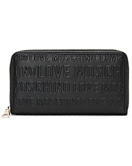 Love Moschino Embossed Logo Purse