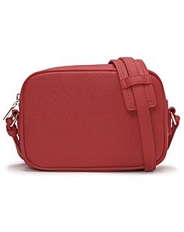 Love Moschino Embossed Logo Cross-Body Bag