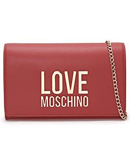 Love Moschino Friends Large Logo Cross-Body Bag