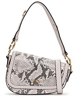 Guess Dream Flap Reptile Shoulder Bag
