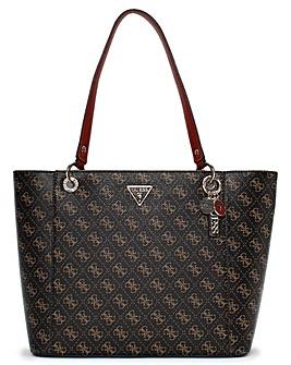 Guess Noelle E Signature Logo Tote Bag