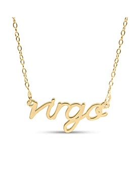 Gold Plated Silver Zodiac Necklace