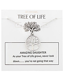 Tree of Life Amazing Daughter Pendant