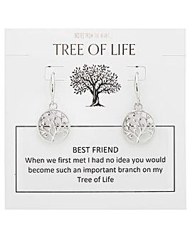 Tree of Life Best Friend Earrings