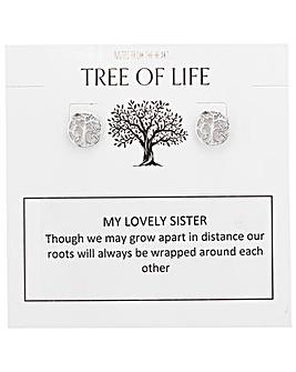 Tree of Life My Lovely Sister Earrings