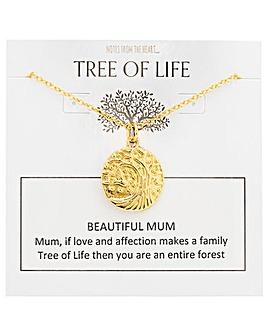 Tree of Life Beautiful Mum Pendant