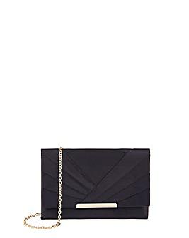Accessorize Satin Clutch Bag