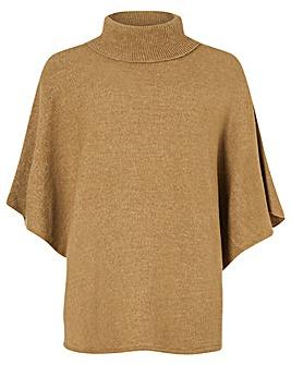 Accessorize Cosy Knit Poncho