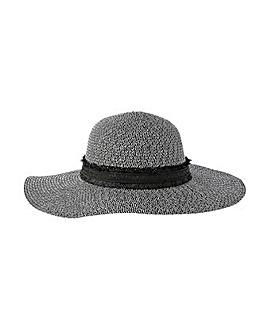Accessorize Rhodes Braid Floppy Hat