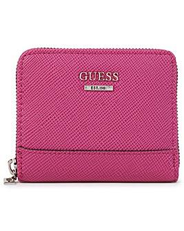 Guess Small Noelle Zip Around Wallet