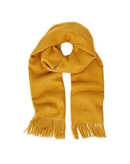 Holly Super-Soft Blanket Scarf Ochre