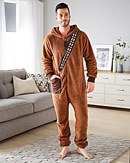 Chewbacca Wookie Onesie for Men