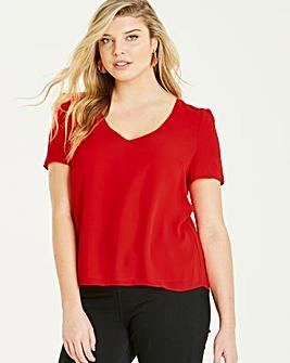 Oasis Curve V Neck T Shirt