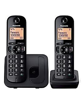 Panasonic KX-TGC212EB Twin Telephone