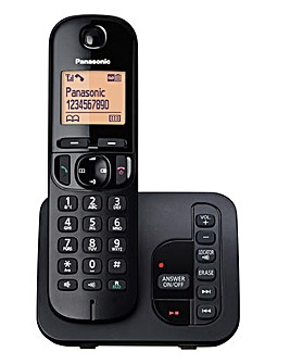 Panasonic KX-TGC220EB Single Cordless Telephone