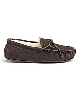 Mens Moccasins Hard Sole