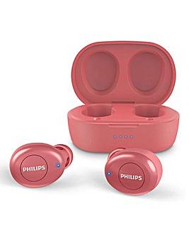 Philips TAT2205 True Wireless Earbuds RED