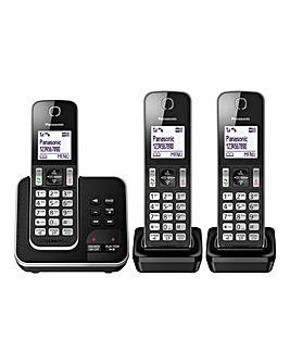 Panasonic KX-TGD32 Triple Cordless Telephone