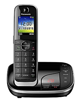 Panasonic KX-TGJ320EB Single Cordless Telephone