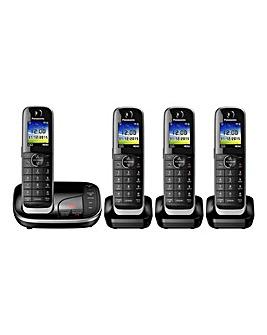 Panasonic KX-TGJ324EB Quad Telephone