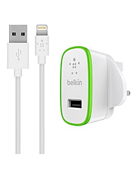 Belkin BOOST UP Charger +Lightning Cable