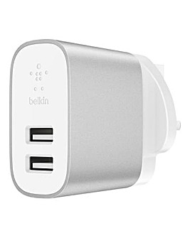 Belkin 4.8A Dual USB-A Home Charger (F8J107 refresh)