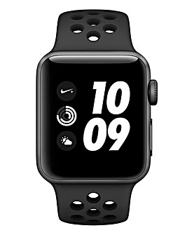 Apple Watch Nike+ Series 3 38mm - GPS, Black Sport Band