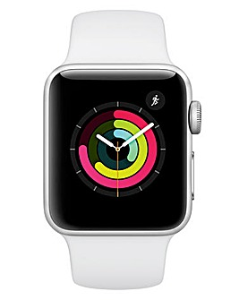 Apple Watch Series 3 38mm - GPS, White Sport Band