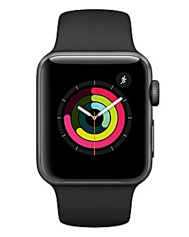 Apple Watch Series 3 38mm - GPS, Black Sport Band