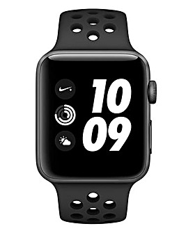 Apple Watch Nike+ Series 3 42mm - GPS, Black Sport Band