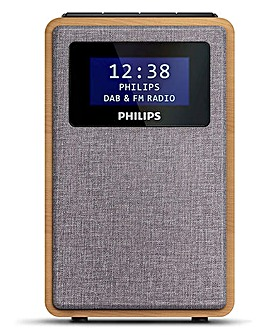Philips Clock Radio with DAB & FM