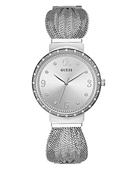 Guess Ladies Chiffon Mesh Watch