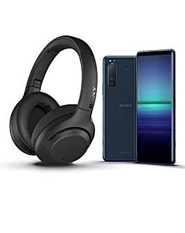 Sony Xperia 5 II + Sony Headphones