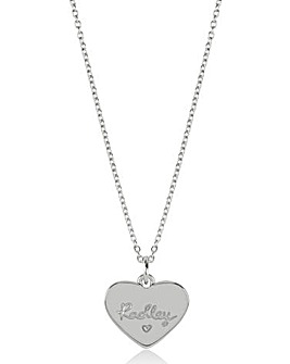 Radley Heart Disc Necklace