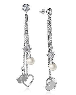 Radley Charm Drop Earrings