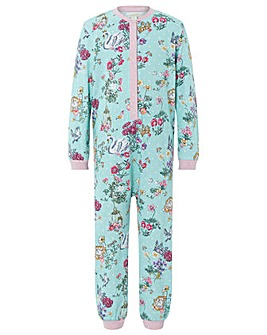 Monsoon Avery Jersey Sleepsuit