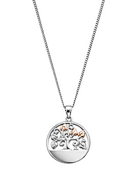 Clogau Tree of Life Disc Pendant