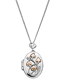 Clogau Tree of Life Diamond Locket