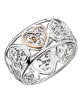 Clogau Tree of Life One Diamond Ring