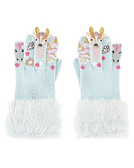 Monsoon Woodland Castle Novelty Glove