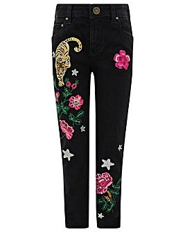 Monsoon Tiana Badge Jean