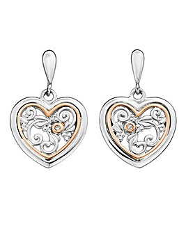 Clogau Tree of Life One Diamond Earrings