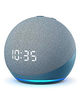 Amazon Echo Dot (4th Generation), Smart Speaker with Clock and Alexa