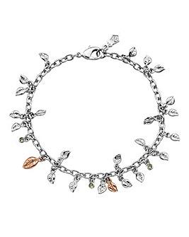 Clogau Awelon Leaf Charm Bracelet