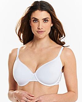 2 Pack Basic T Shirt White Bras